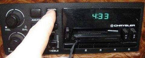 Chrysler Clock 5